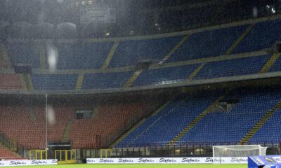 Stadio San Siro Pioggia